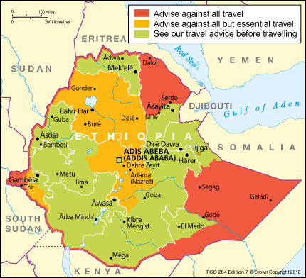 FCO 284 - Ethiopia Travel Advice Ed2 [WEB]